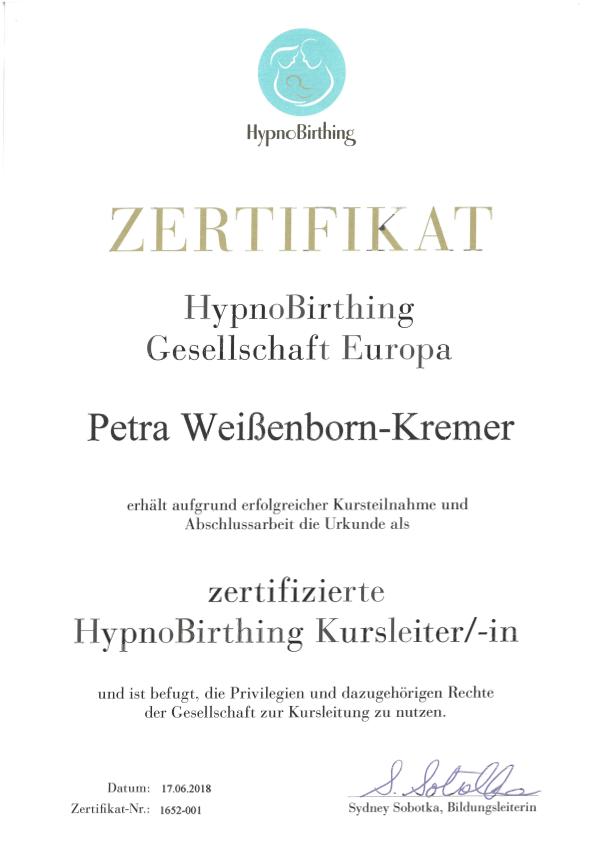 Hypnosbirthing